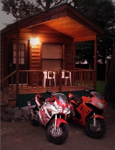 Bikes and Cabin